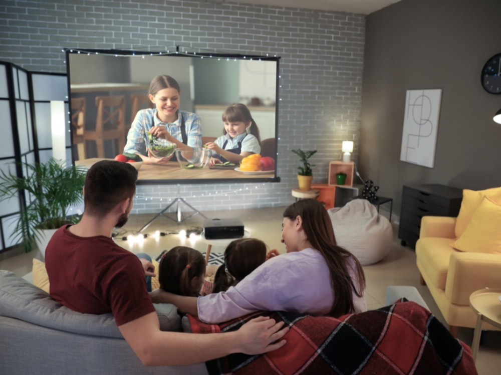 Let's Make a Private Home Theater with this Sophisticated LED Projector