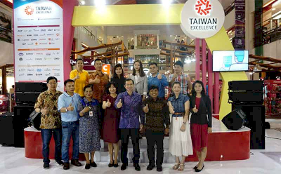 Experiencing Taiwan Innovative Products in Bali