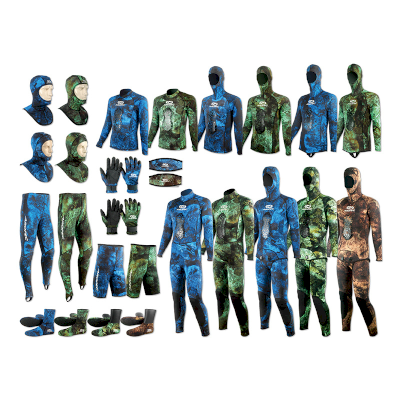 AROPEC Spearfishing wetsuit and accessories