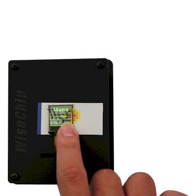 Transparent OLED Touch Display