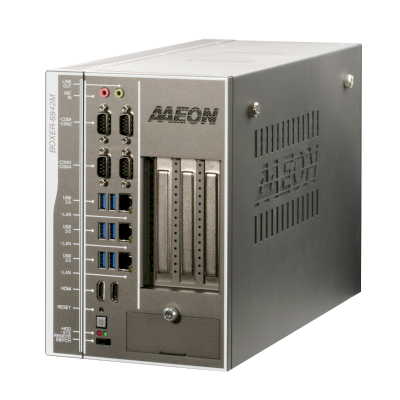 AAEON Edge AI Fanless Embedded Industrial Controller BOXER-6842M