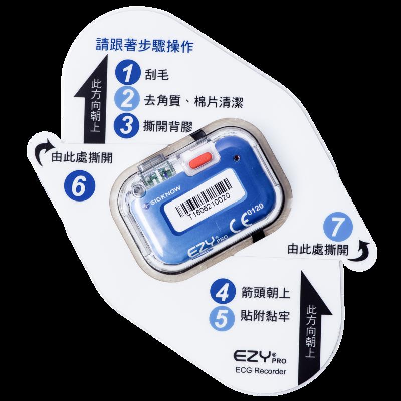 JustWipe EZYPRO Arrhythmia Detection Solution UG01